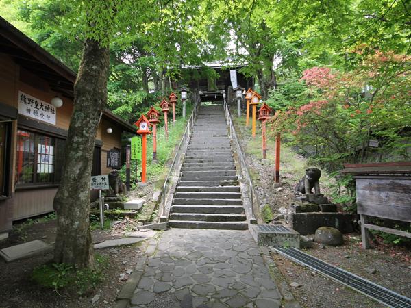 長野と群馬の県境、熊野神社