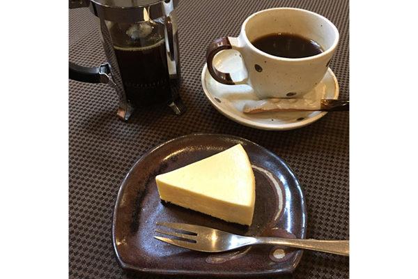 丸山珈琲・軽井沢のチーズケーキ