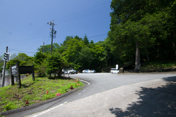 市村記念館駐車場