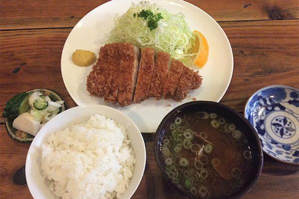 軽井沢・とんかつ侘助のランチ
