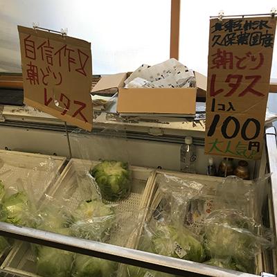 久保農園直売所北軽井沢店レタス