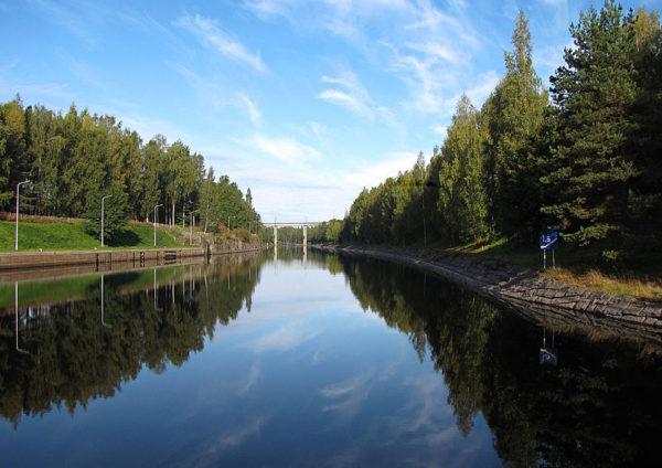 フィンランドの「サイマー運河」