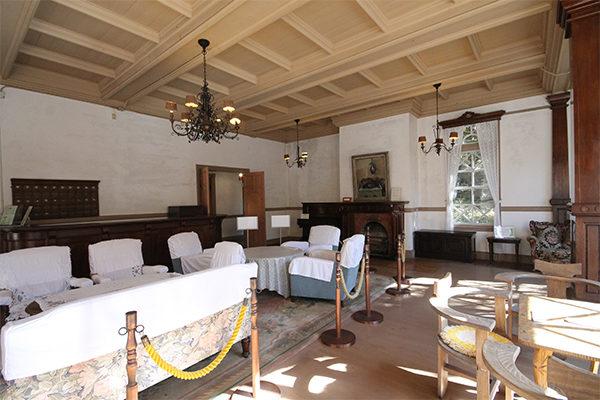 旧三笠ホテル ロビー