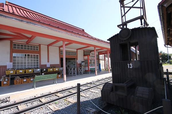草軽鉄道・北軽井沢駅舎